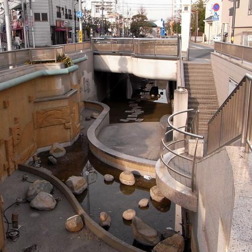 Nishi-Ibori babbling stream park 06