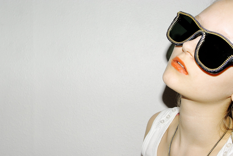 Style Hurricane DIY Alexander Wang zipper shades 1