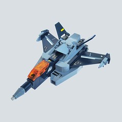 Maikuro Fighter 13 (Fredoichi) Tags: fighter lego space micro shooter macross shootemup starfighter shmup microscale fredoichi