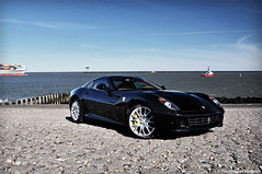 Ferrari 599 GTB Fiorano (Thomas van Meijeren) Tags: ocean sea italy black netherlands leather yellow photoshop boat photo italian flickr shoot power photoshoot interior f1 ferrari explore enzo gran modena bugatti turismo lamborghini nero challenge mc12 maserati maasvlakte maranello gtb veyron alcantara cs3 berlinetta 599 fiorano d90 18135 lp640 nikond90 cuio nerodaytona transaxial