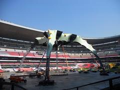 Sexto día de montaje - Estadio Azteca 43