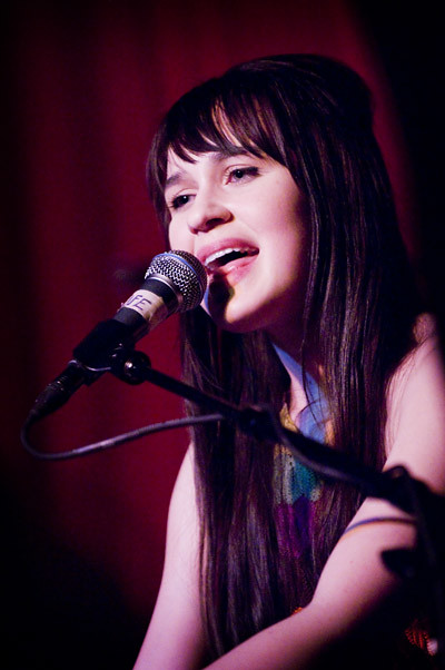 Breanne Duren performs at The Hotel Cafe.