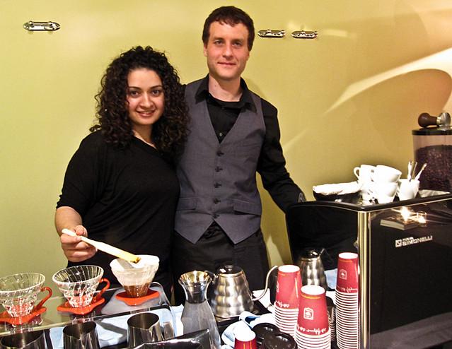 Artigiano coffee station