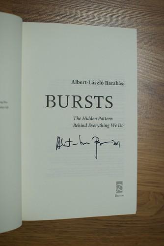 Bursts autograph