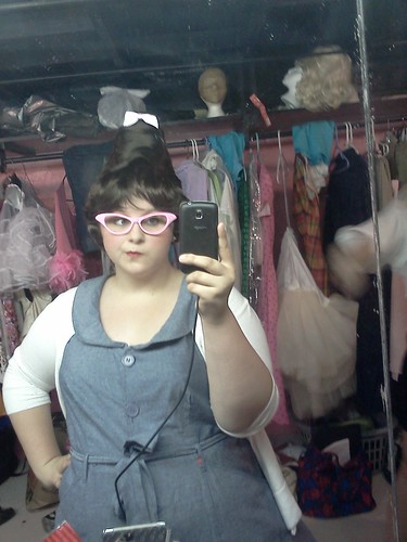 Backstage- Hairspray