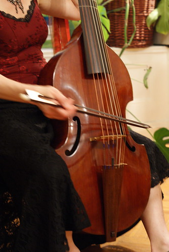 Playing the Viola da Gamba