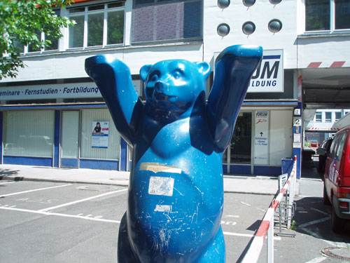 One of Berlin's Buddy Bears