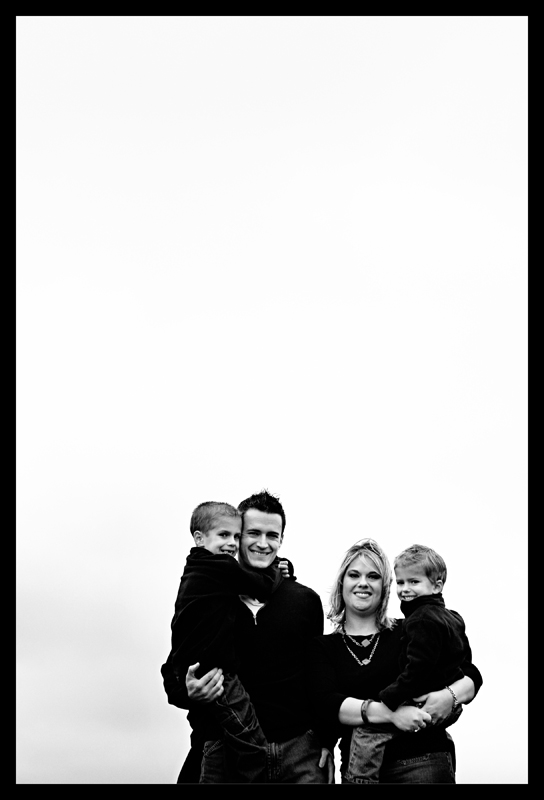 richards family sky bw blog