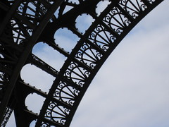 Eiffel Tower Ironwork 3