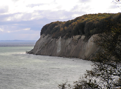 The not so white cliffs of Rügen