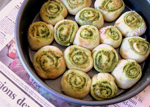 Pesto Rolls 2