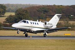 OM-OPR - 525-0101 - Private - Cessna 525 CitationJet - Luton - 091023 - Steven Gray - IMG_2824