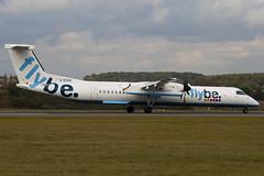 G-ECOK - 4230 - Flybe British European - De Havilland Canada DHC-8-402Q Dash 8 (DHC-8) - Luton - 091022 - Steven Gray - IMG_2766