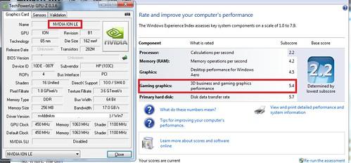 Nvidia ION, Nvidia ION LE, DirectX10, Hack