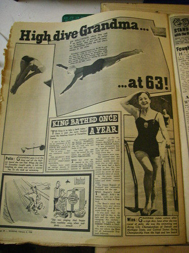 High dive Grandma... at 63!