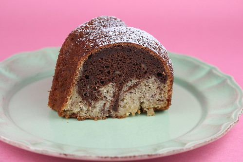 Banana Chocolate Bundt - I Like Big Bundts