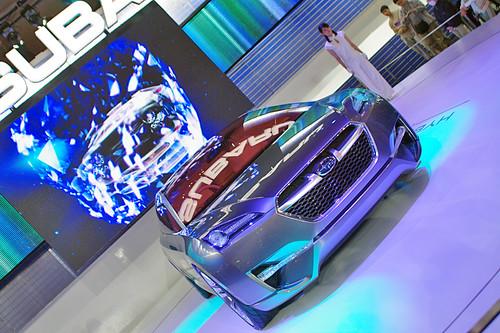 Tokyo Motor Show '09 SUBARU-HYBRID-TOURER-CONCEPT01