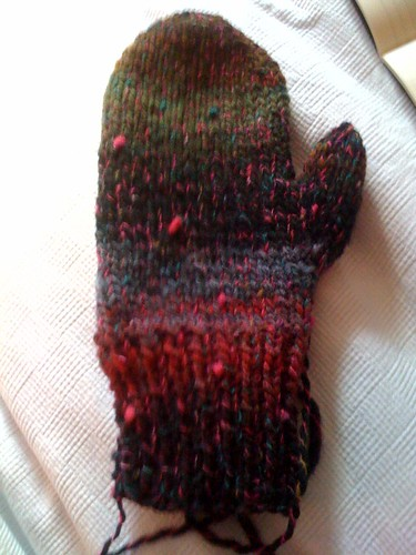 One mitten complete!
