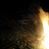bonfire (the incredible how (intermitten.t)) Tags: drawing flames bonfire sparks 7184 071109