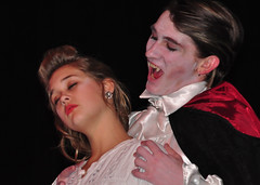 Dracula bites Lucy Westenra (drurydrama (Len Radin)) Tags: school its high theater theatre massachusetts makeup dracula gore radin drury thespian bloodlust berkshirecounty dramateam edta highschooltheater educationaltheatre drurydramateam drlenradin wwwdrurydramacom educationaltheater secondarytheatre