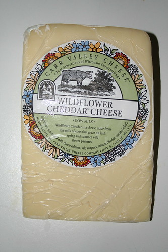 2009-05-18 - Cheese - Carr Valley Wildflower Cheddar
