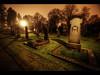 Pelle (Kaj Bjurman) Tags: orange graveyard night dark eos sweden stockholm cemetary graves 5d sverige hdr pelle solna kaj mkii markii cs4 kyrkogård photomatix bjurman