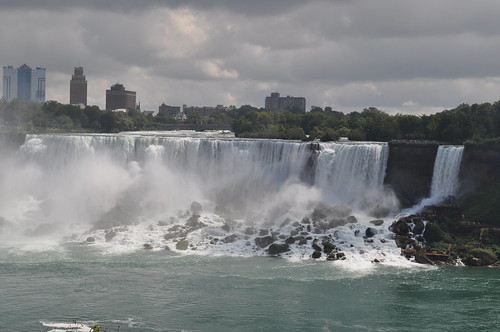 Horseshoe Falls - Catarata del lado canadiense