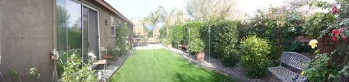 Denise's Garden Panorama 002
