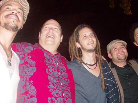Los actuantes en el IV Festival calle Hostos