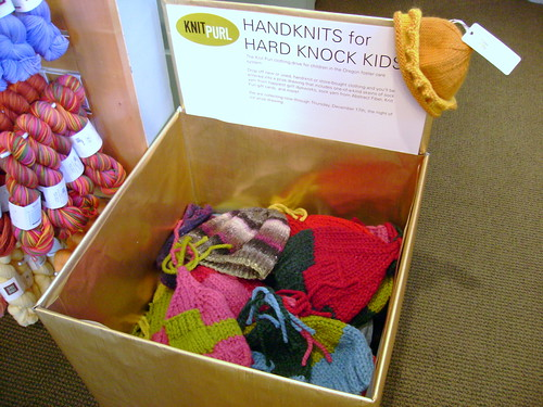 Handknits for Hard Knock Kids