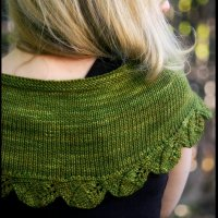 Create Your Own Cedar Leaf Shawlette Kit
