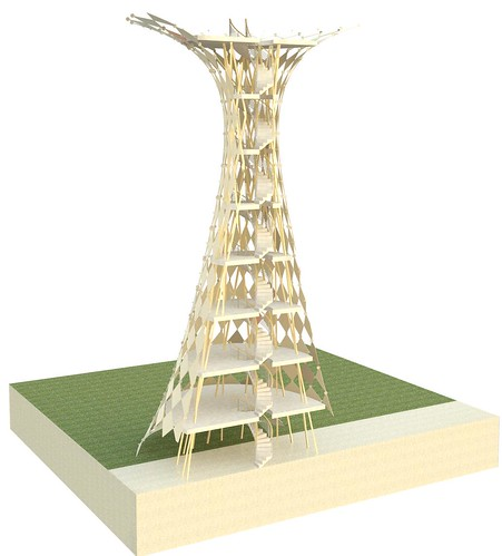 Tower Cutaway