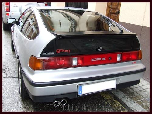 Honda CRX Gris Plata-73