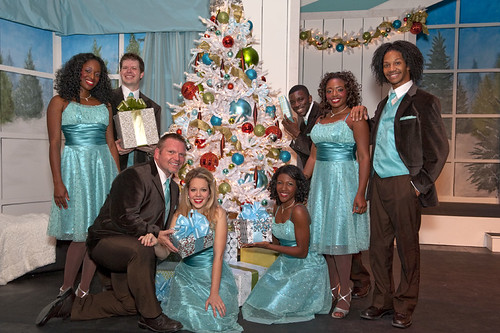 Local talent bring Stone Mountain Park holiday shows to life