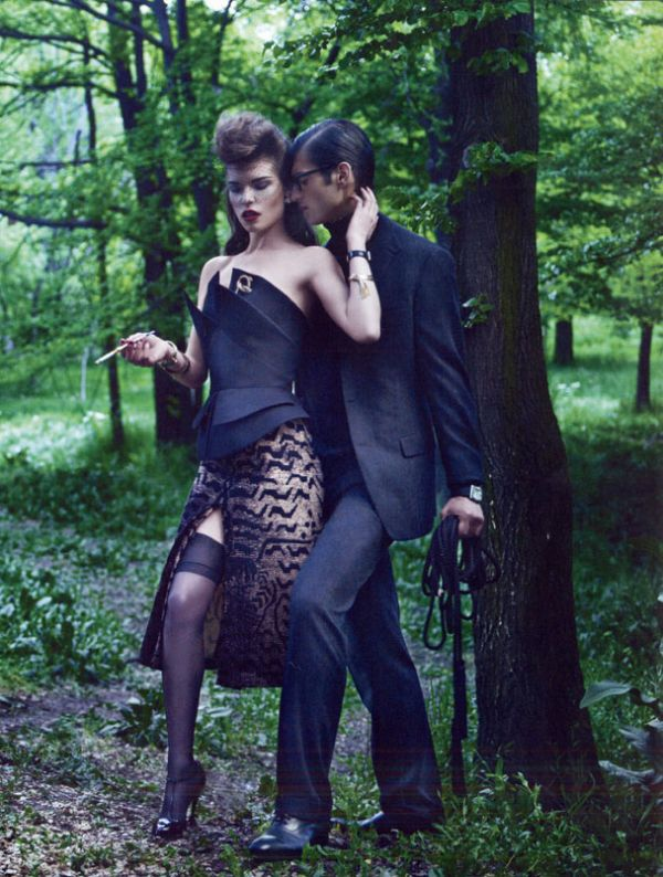Vogue España  Louise Pedersen by Gonzalo Machado 7