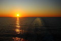 Waterstream & Lightbeam (DOS82) Tags: ocean cruise sunset summer sun water holidays meer mediterranean cruiser aida waterstream lightbeam ozean kreuzfahrt aidacara