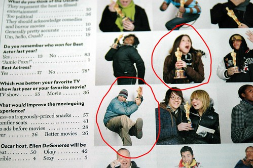 Matty and I found ourselves in some random magazine