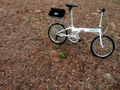 Dahon Vitesse D7 (chinnian) Tags: cloud white bicycle singapore 2009 foldingbike dahon pcn changibeach foldie vd7 vitessed7 parkconnectornetwork coastalparkconnector