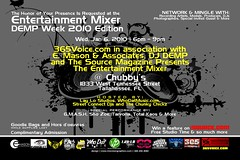 The Entertainment Mixer DEMP Week Edition | Wed, Jan 6, 2010 in Tallahassee, FL