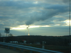 Odd Cloud Formation in Southwestern PA (unearthingK) Tags: sky clouds driving november09