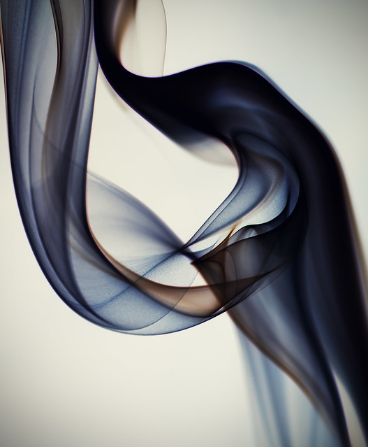 Smoke Art #1 - Layers of Silk