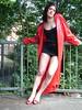 DSCF2783 (www.suziehigh.co.uk) Tags: rain mac coat vinyl plastic raincoat rainwear pvc slicker regenmantel