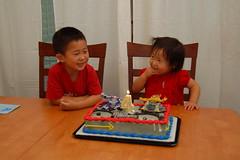 Transformer cake!