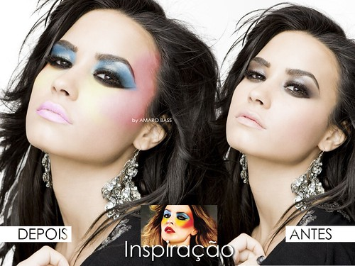 Make Up Inspirada na foto da Kylie Minogue