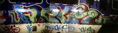 dels nightshot (London Art) Tags: train graffiti 1999 dels