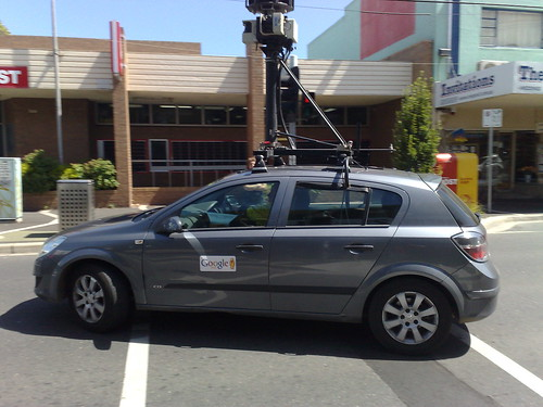 Google Streetview car, Bentleigh