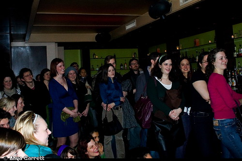 The crowd at Splurge! January 8, 2010