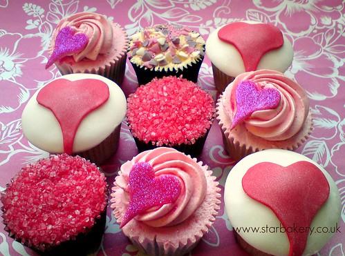 Valentines cupcake gift box