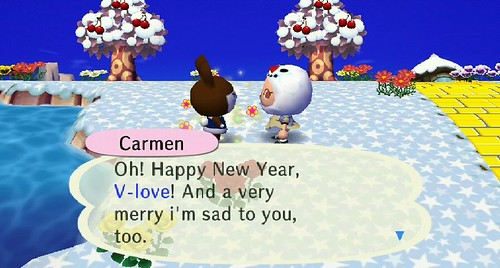 Carmen is so conflicted