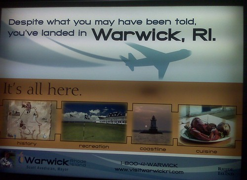 Warwick, not Providence!